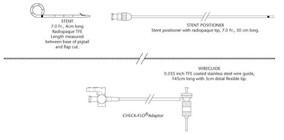 Cook® LBSS-7-4 Laparoscopic Transcystic Biliary Stent Set